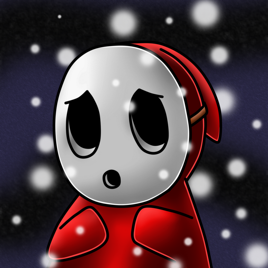 Day 3: Shy Guy by AlenaChen