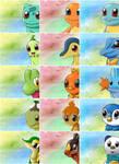 All Pokemon Starters