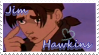 Jim Hawkins random stamp by BlackBerryJelly