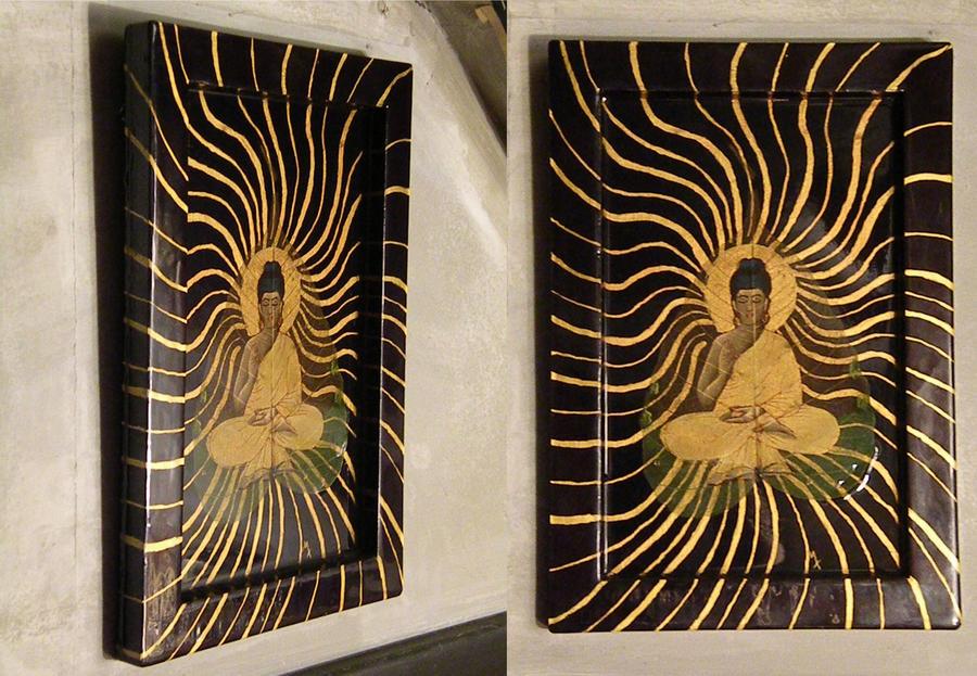 buddha frame by maxperez