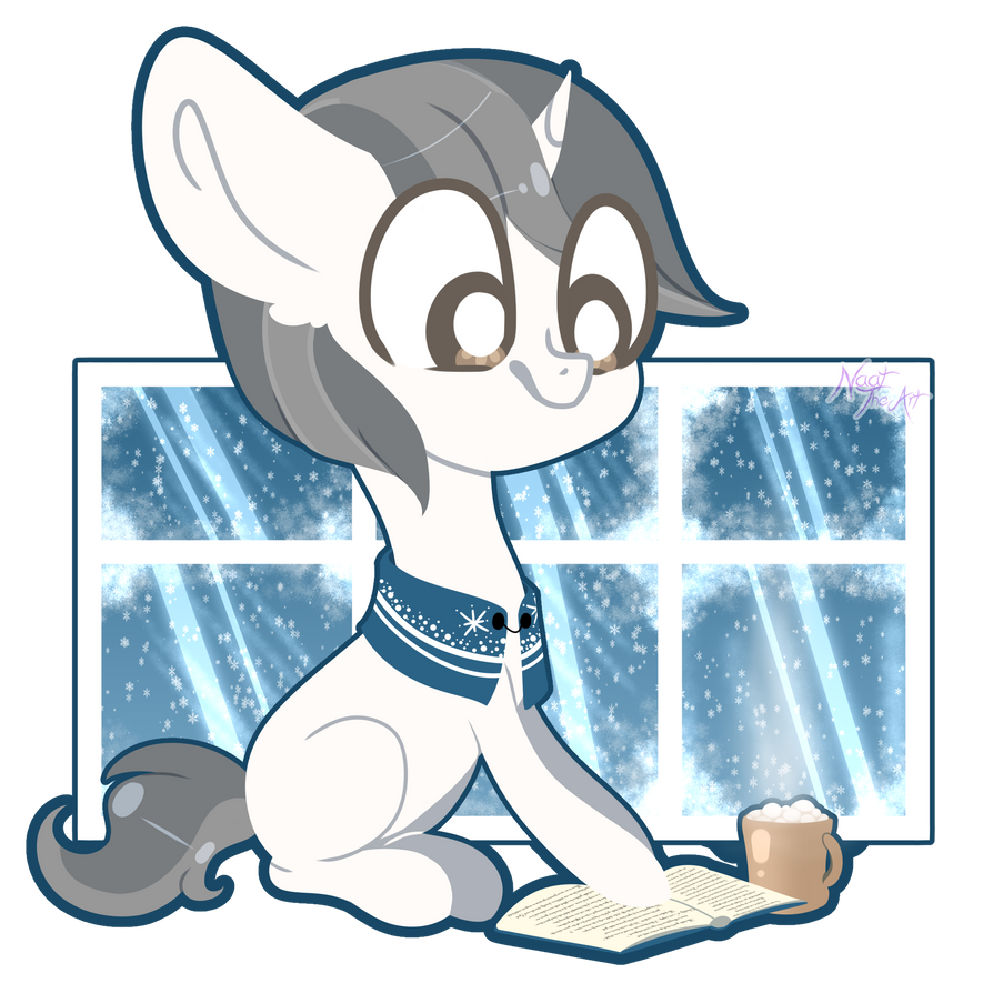 YCH - Diamonds that became snowflakes by NaatTheArt