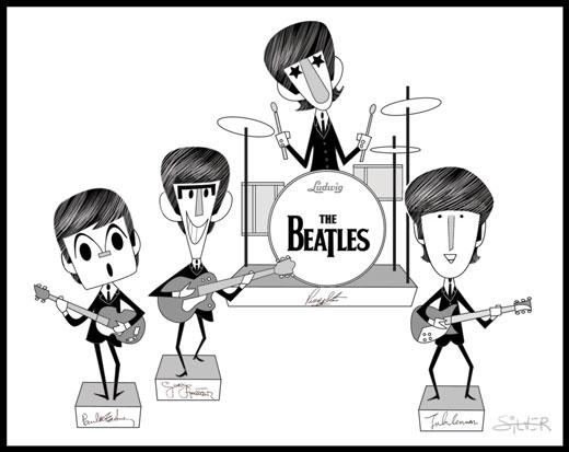 The Beatles by stephensilver
