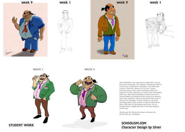 Stephen Silver Character Design Course : Character design course by stephensilver