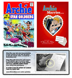 ARCHIE COMICS ARTIST by stephensilver
