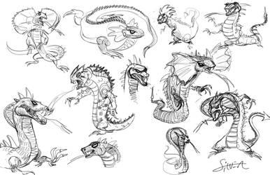 more villian sketches