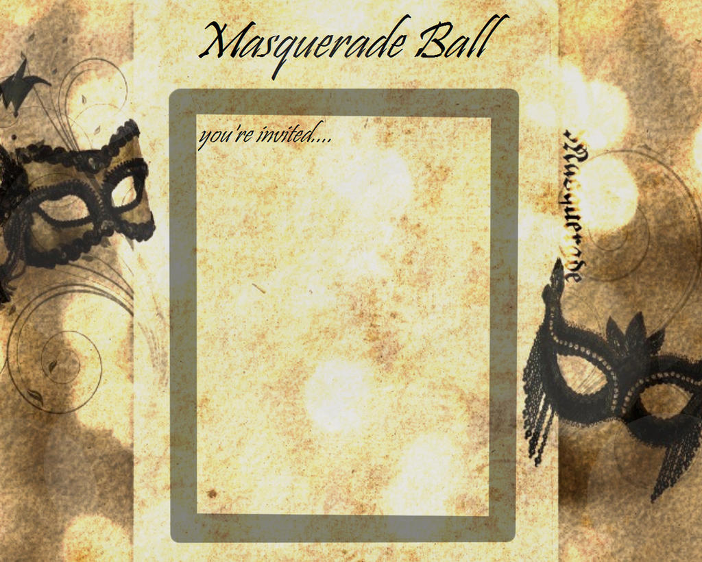 MotherMaryBerry Masquerade Ball Format By