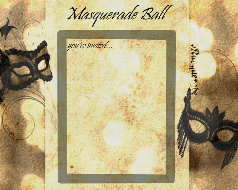 Masquerade Ball Format By Mothermaryberry On Deviantart