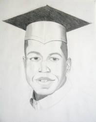 My graduation Portrait by qabas121