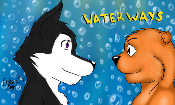 FanArt Cory y Samaki de WaterWays