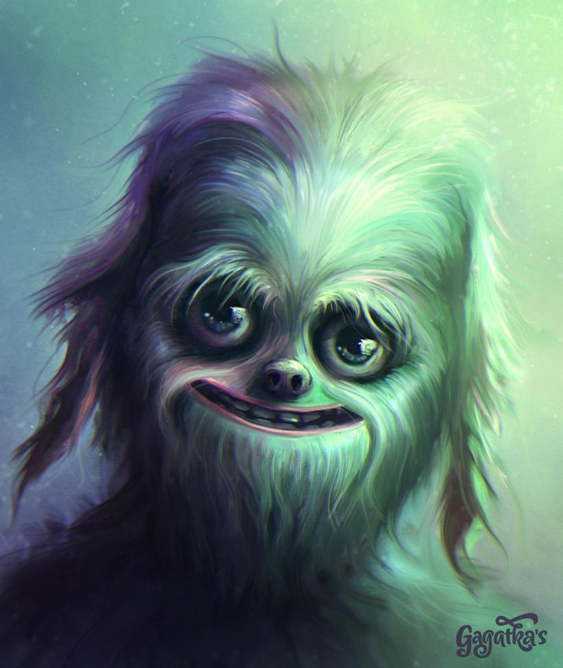 Wookie's descendant by gagatka27