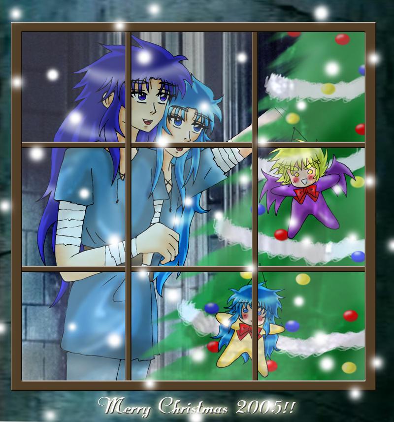 Saint Seiya Fanart natalizie