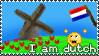I am Dutch - Stamp by MikkoToivonen
