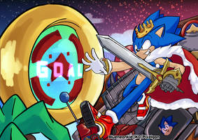 In His World #Sonic28th
