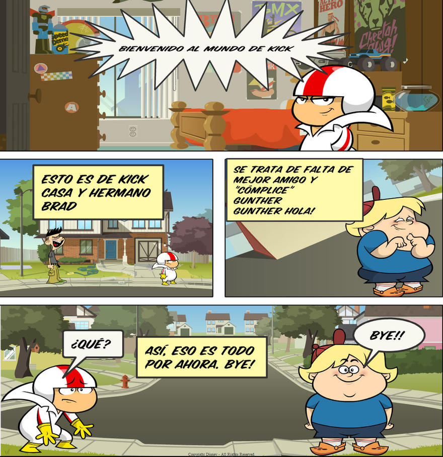 Kick Buttowski Comics Span 2 By KappaMikeyGuanofan12