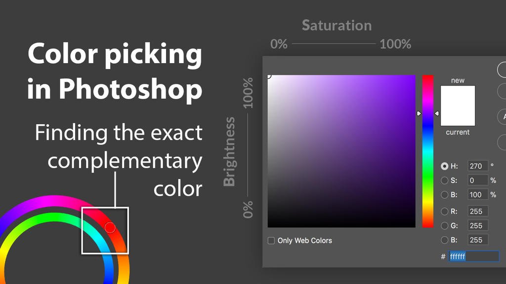 Youtube Tutorial - Color picking in Photoshop
