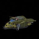 Assualt Gunship by warlordvir