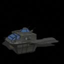 Assualt Gunship-Vechile by warlordvir