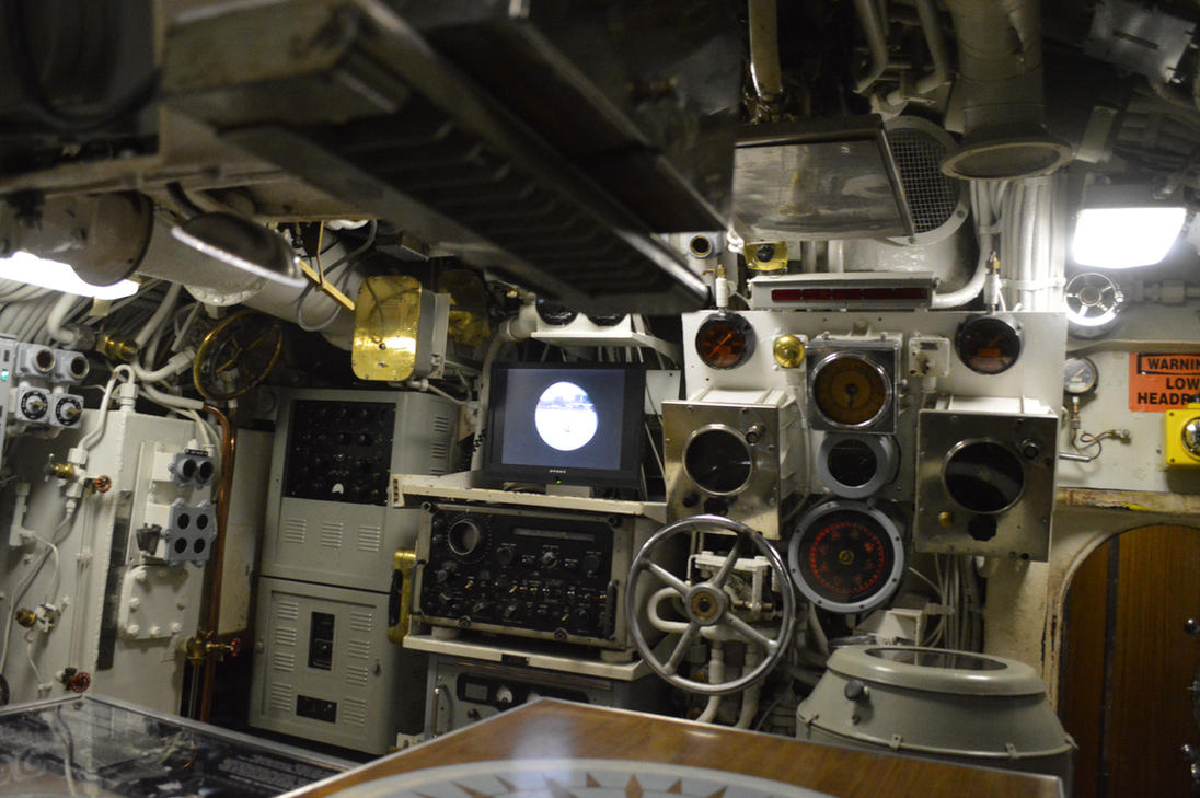 Control Room Forward Section by CoastGuardBrony1