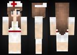 minecraft: Nurse Girl Skin Preview