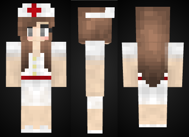 Minecraft Nurse Girl Skin Preview By Mineskinz On DeviantArt - Skins para minecraft pe zelda