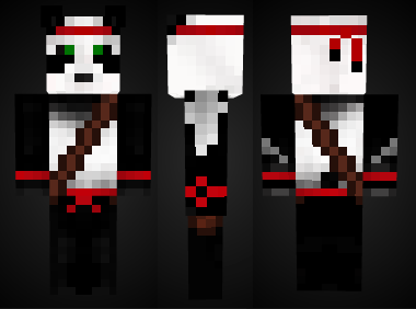 Minecraft Ninja Panda Skin Preview By Mineskinz On DeviantArt - Ninja skins fur minecraft