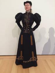 1896 walking costume