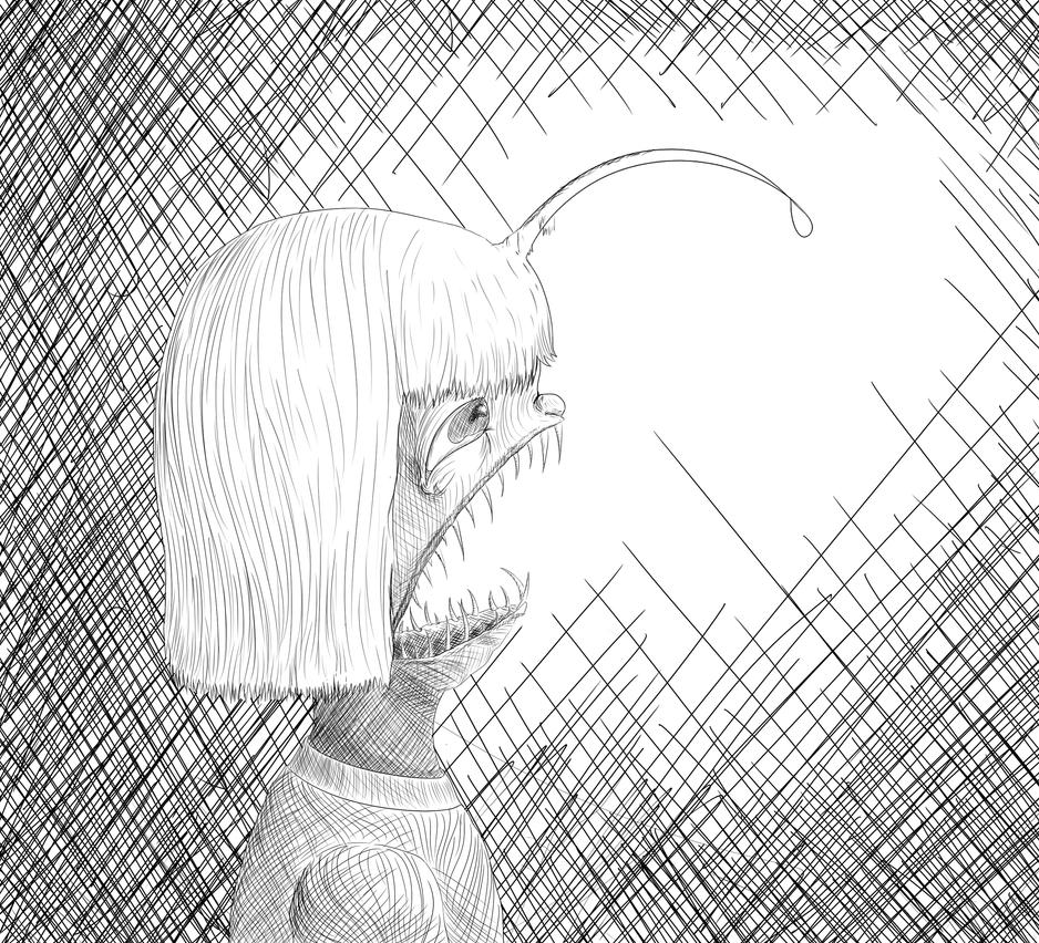 Angler by WeirdSpaceKid