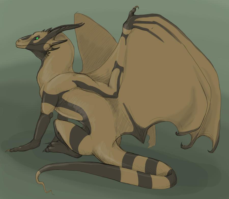 Oryx dragon by thunder-hart