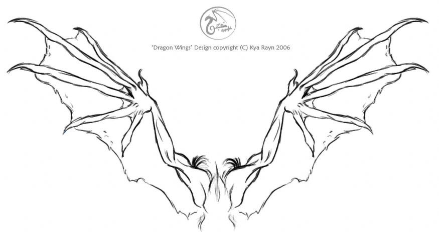Dragon Wings Tattoo Design By NorthSkyThunder On DeviantArt