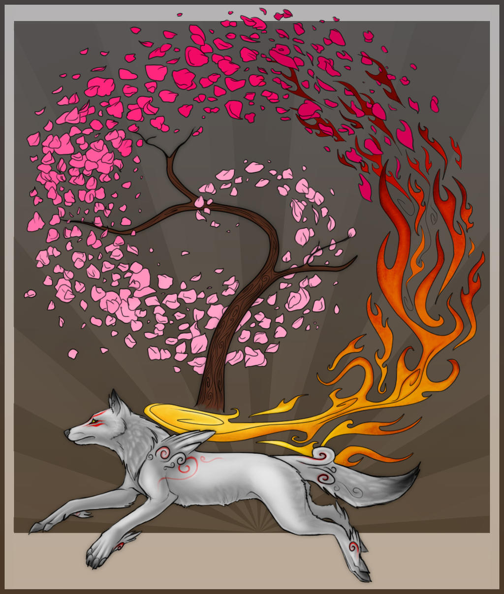Amaterasu by NorthSkyThunder