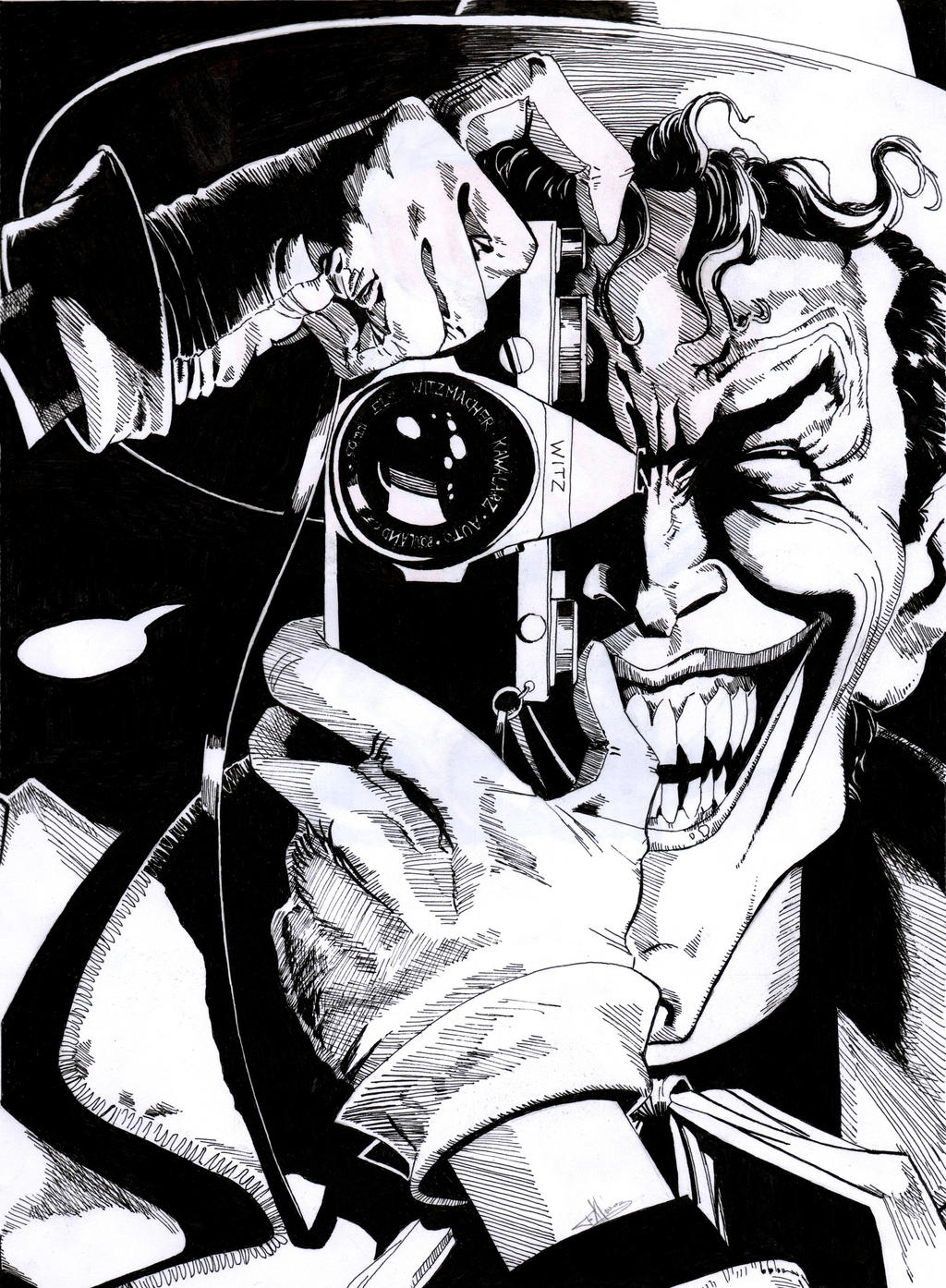 The Joker by Felix-Alvarez