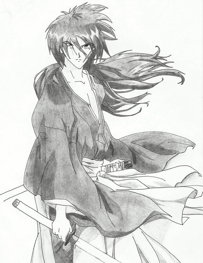 Kenshin Himura by Felix-Alvarez