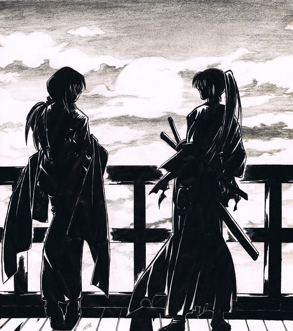 Kenshin and Tomoe by Felix-Alvarez