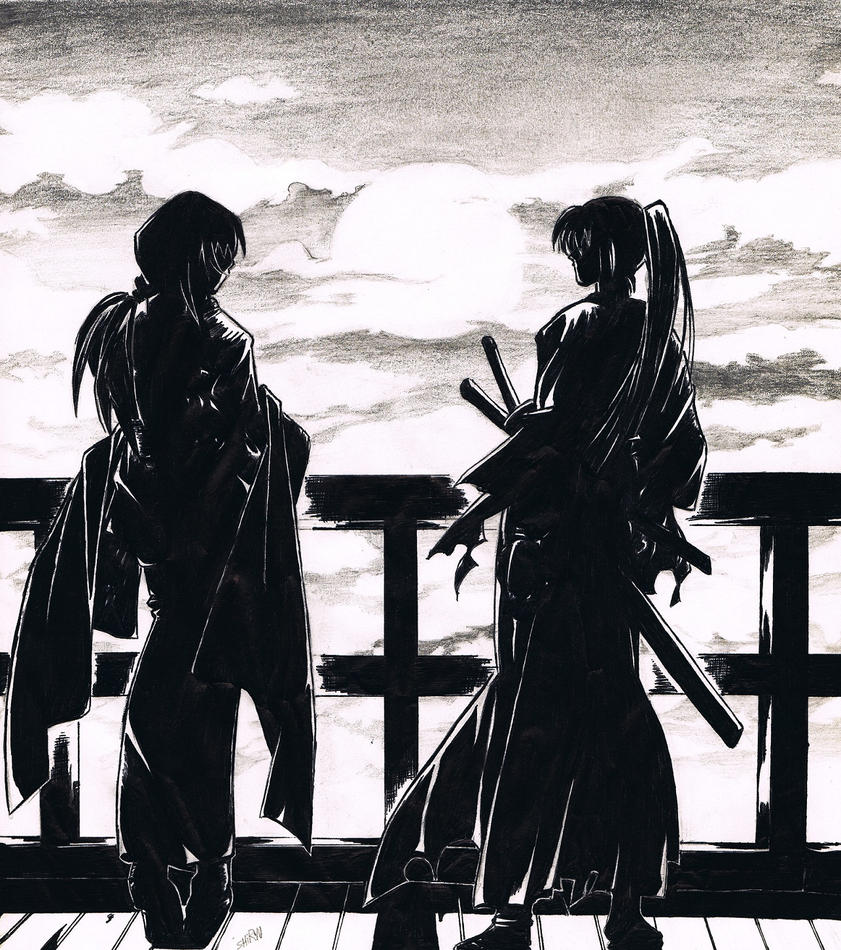 Kenshin and Tomoe by Felix-Alvarez