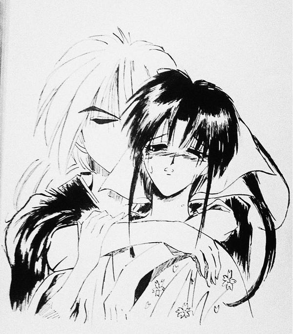 Kenshin and Kaoru by Felix-Alvarez