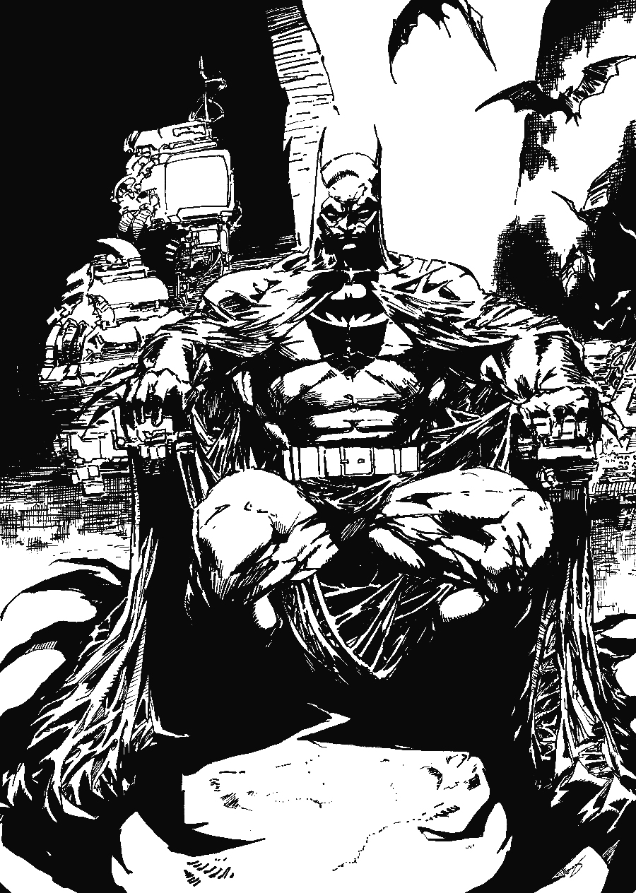 The Women Of Dc Comics Ink In Adam Withers S Dc Comics: Batman Black And White By Felix-Alvarez On DeviantArt
