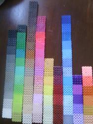~Fuse Bead Color Chart~ part#2
