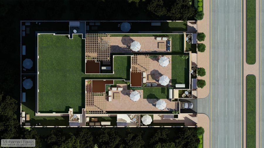3d Building Plan 01 By M Fawzi On Deviantart