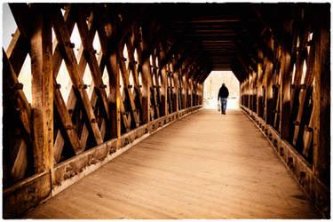 Saturday Bridge Walk by Snoopee63