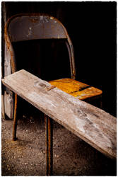 Rusty Chair by Snoopee63