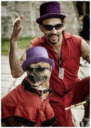Drum team by Snoopee63