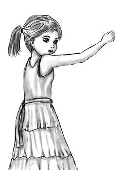 Study sketch character 1