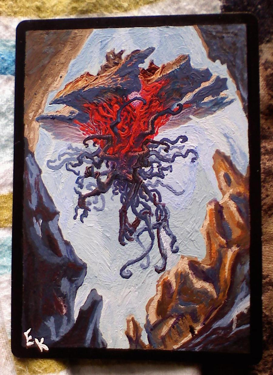 Emrakul Altered Card by Oroka2167 on deviantART
