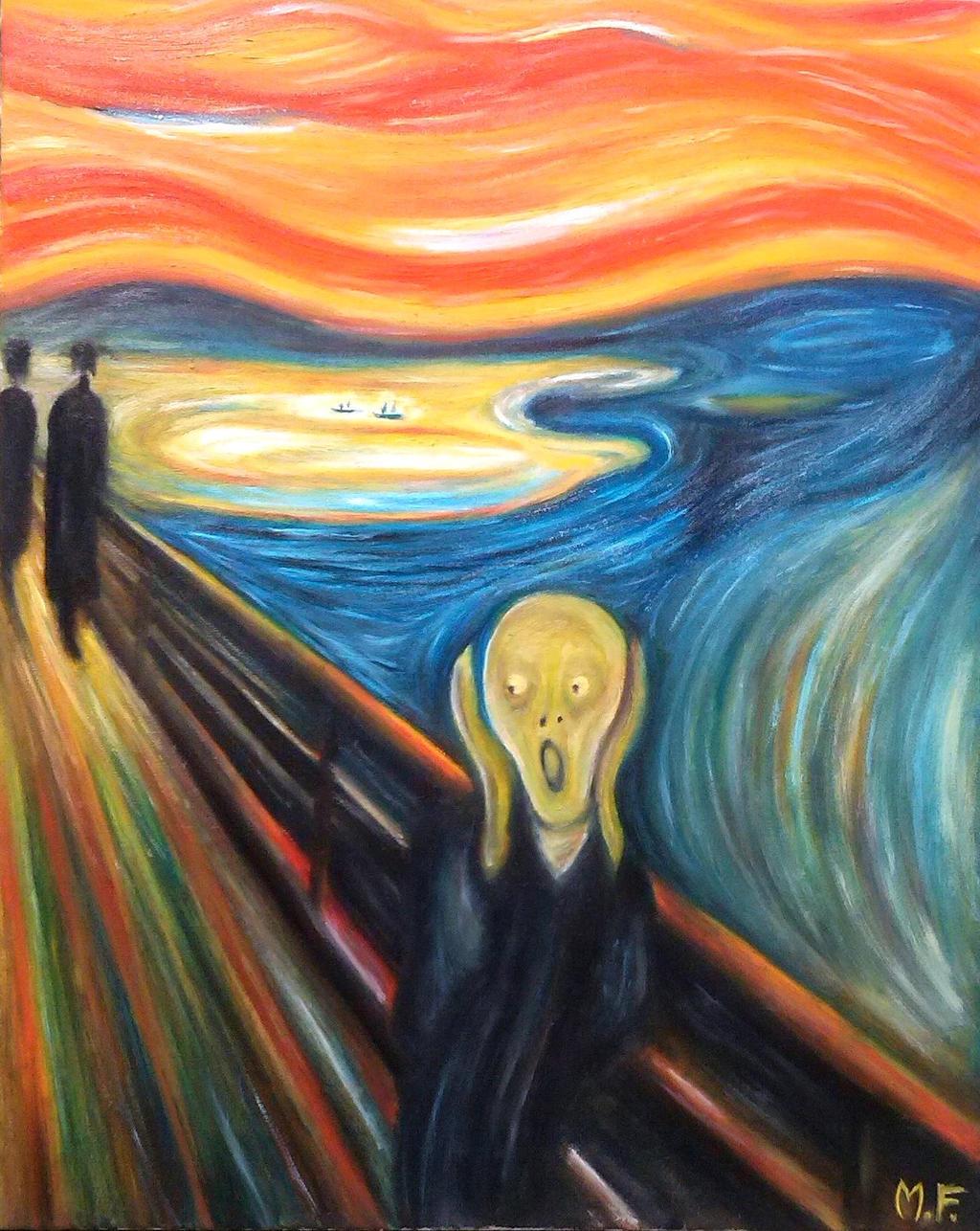 Following Munch xD (l'urlo) [Scream Munch] by DesignerMF ...