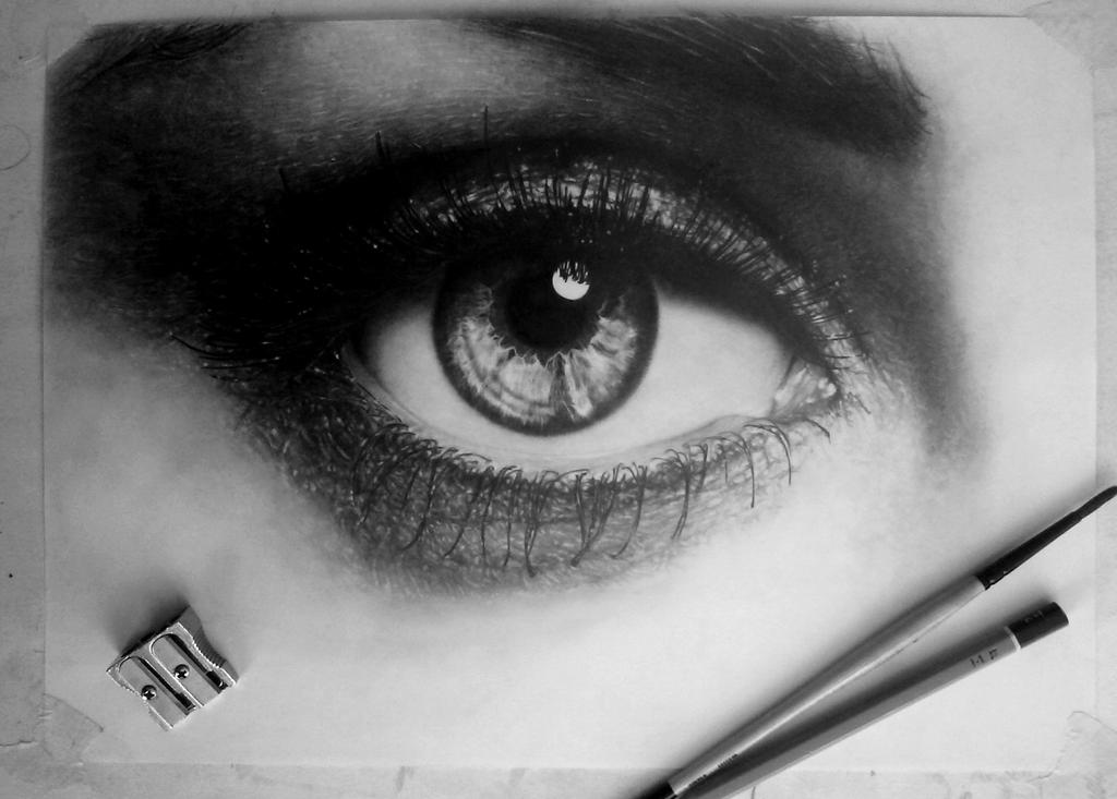 In progress.. Eye (Drawing) [8] by DesignerMF