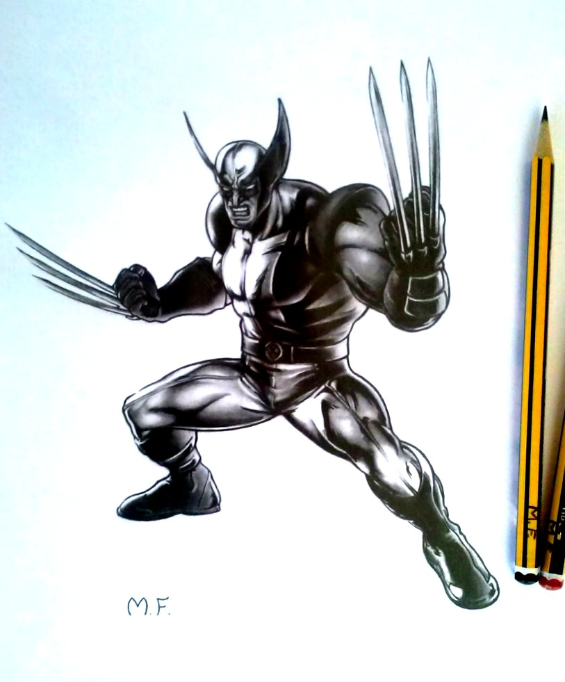 Wolverine (MARVEL) - Drawing by DesignerMF