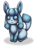 Glaceon - Painty Doodle