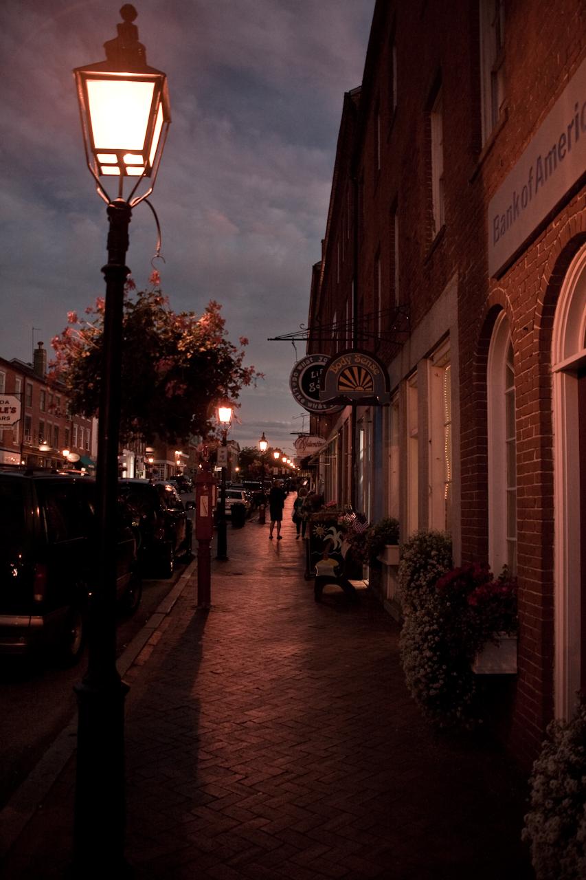 Newburyport sidewalk by FreSch85
