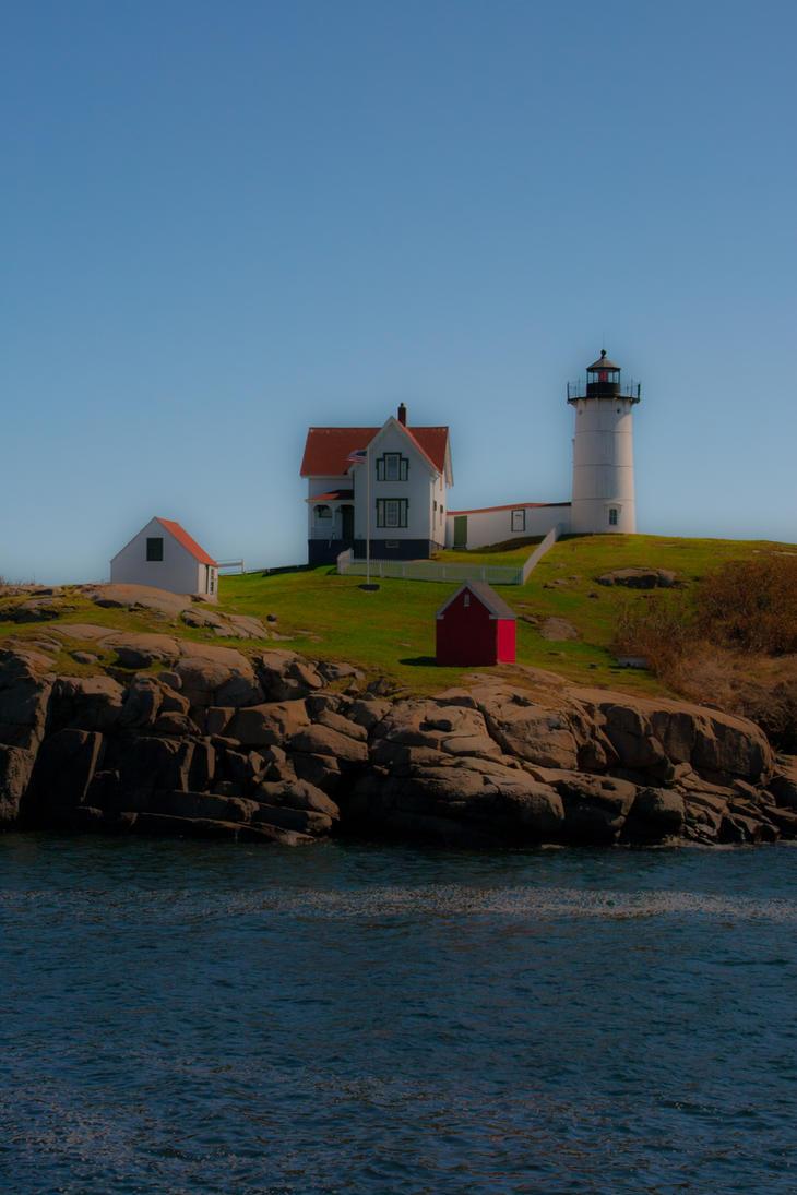 Cape Neddick Lighthouse by FreSch85