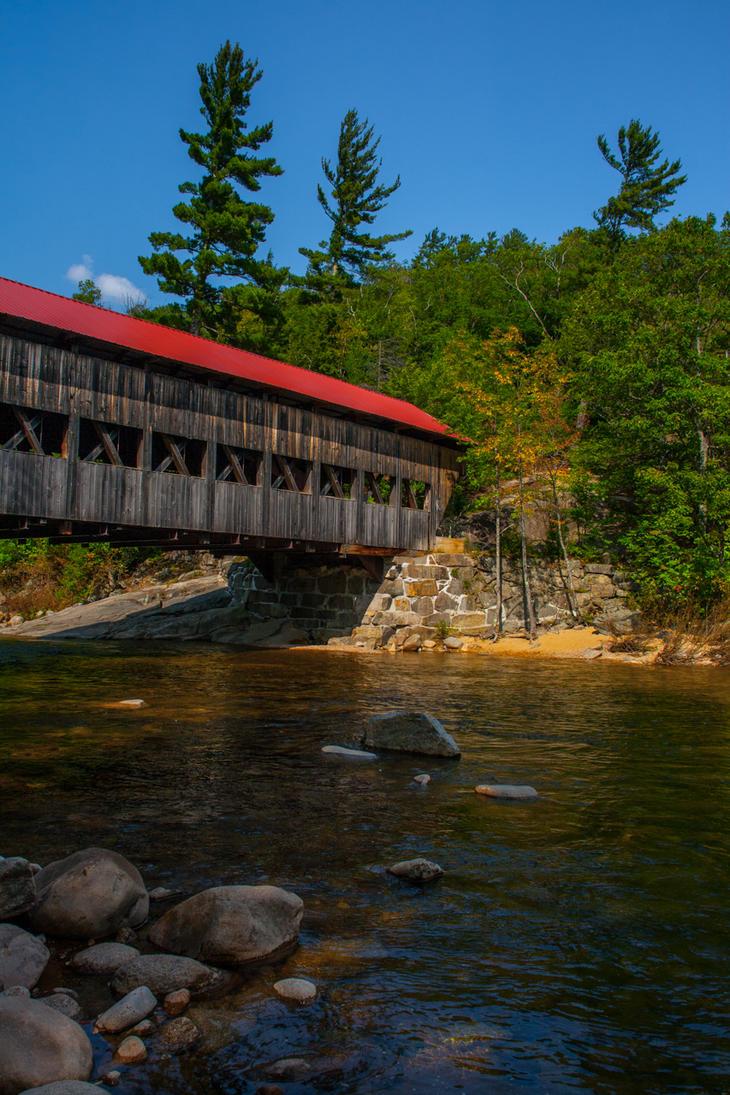 Covered bridge by FreSch85